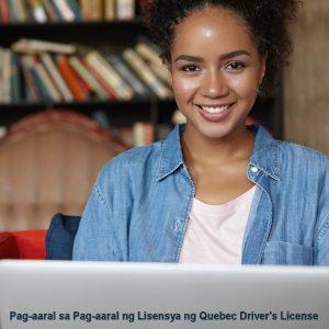 Pag-aaral sa Pag-aaral ng Lisensya ng Quebec Driver's License